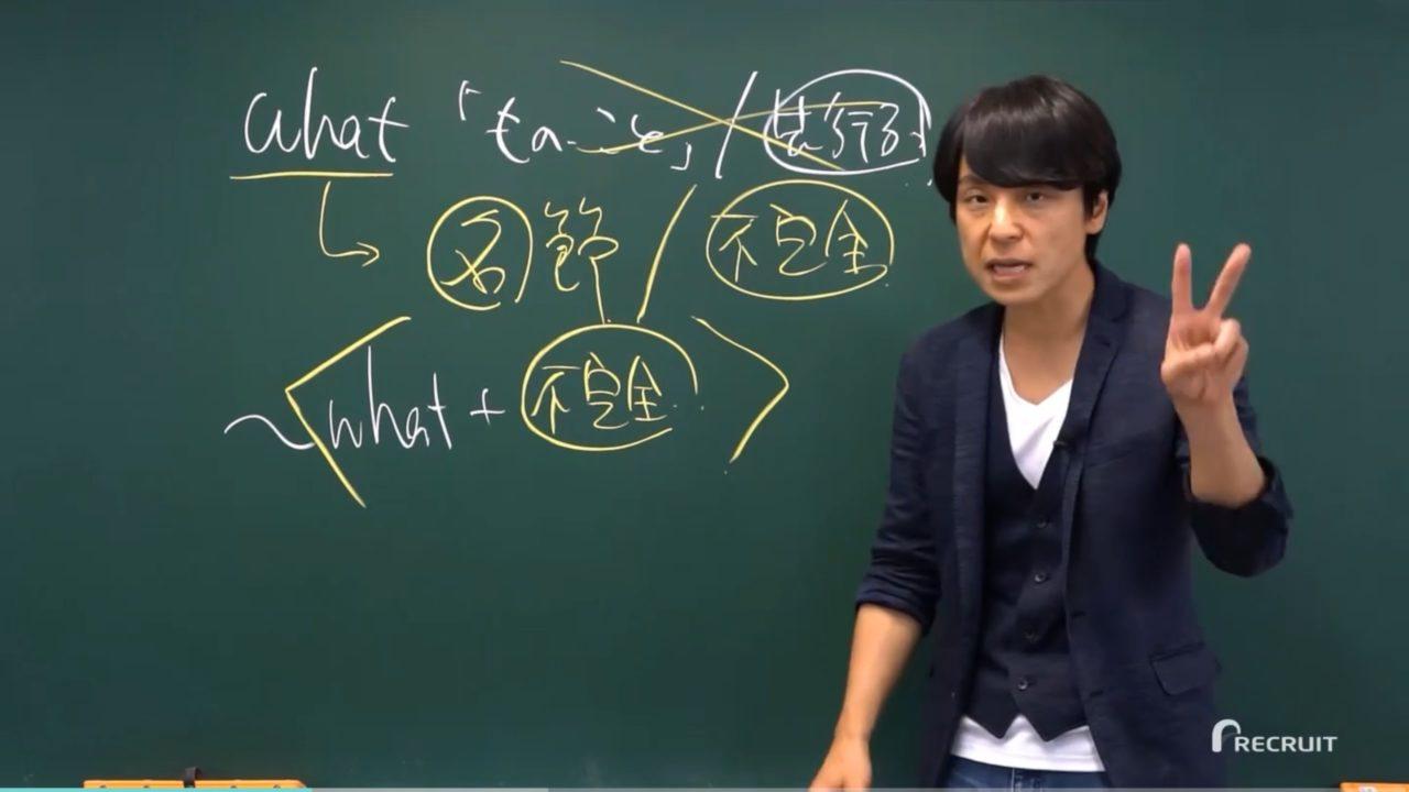 関先生の解説動画スタディサプリTOEIC対策コース